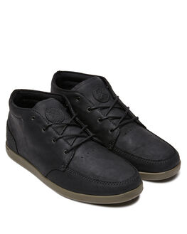 BLACK CHARCOAL MENS FOOTWEAR REEF BOOTS - 3422BLC