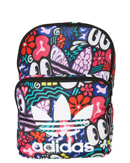 MULTICOLOR WHITE KIDS GIRLS ADIDAS BAGS + BACKPACKS - DW6719MUL