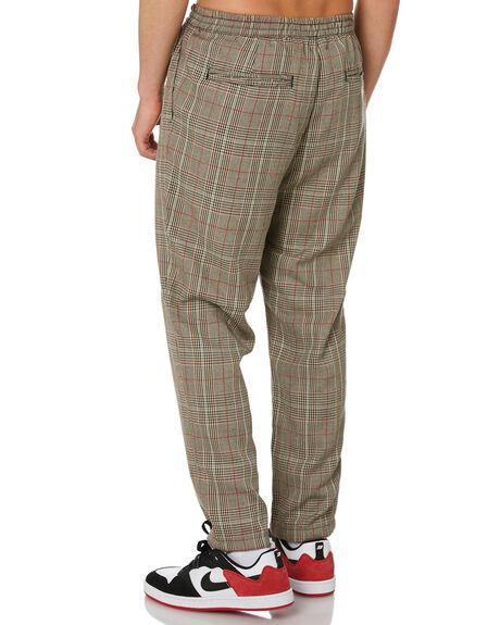 TAN MENS CLOTHING STUSSY PANTS - ST001610TAN