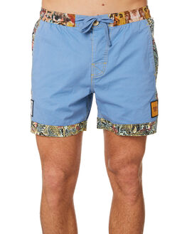 BLUE YONDER MENS CLOTHING THE CRITICAL SLIDE SOCIETY BOARDSHORTS - WT1816BLUYO