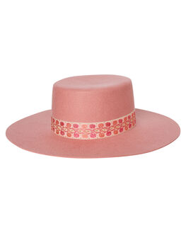 ROSE PINK WOMENS ACCESSORIES LACK OF COLOR HEADWEAR - PINKSIER1ROSE