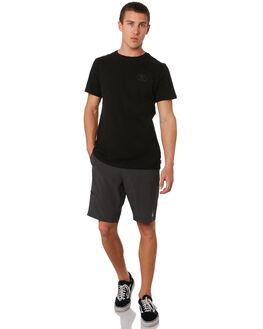 BLACK MENS CLOTHING DEPACTUS SHORTS - D5182235BLACK