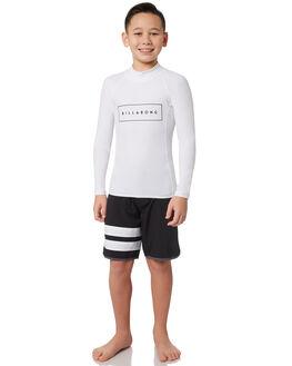 WHITE BOARDSPORTS SURF BILLABONG BOYS - 8781007WHT