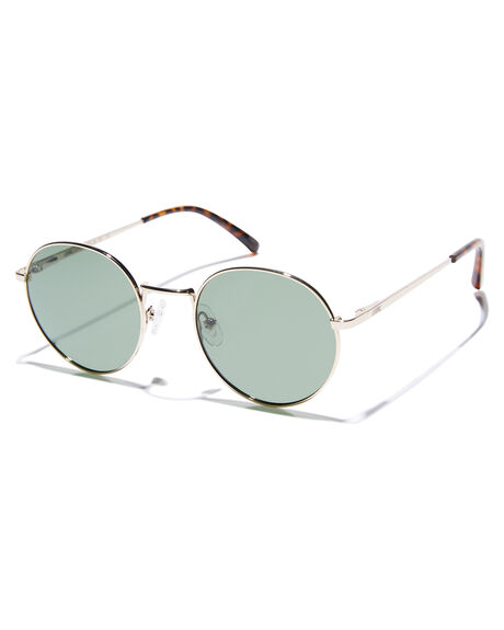 POLISHED GOLD MENS ACCESSORIES LOCAL SUPPLY SUNGLASSES - HARBOURGDP2
