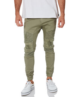 KHAKI MENS CLOTHING NENA AND PASADENA PANTS - NPMHCP002KHAK