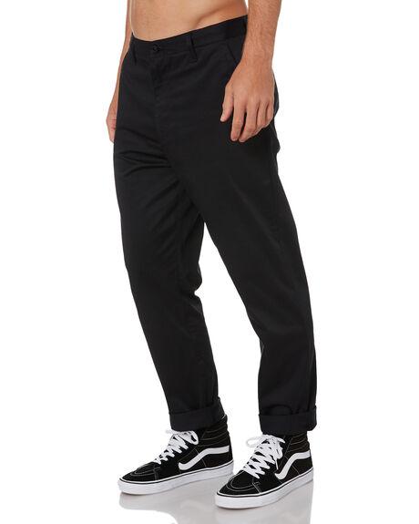 BLACK MENS CLOTHING GLOBE PANTS - GB02116000BLK