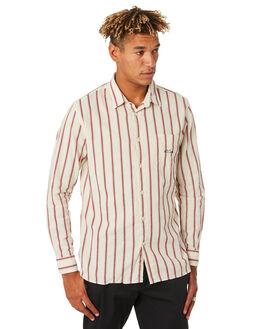 SPORT STRIPE MENS CLOTHING BARNEY COOLS SHIRTS - 324-CC3SPRT