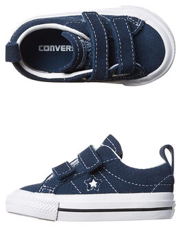 NAVY WHITE KIDS TODDLER GIRLS CONVERSE FOOTWEAR - 756132NVY