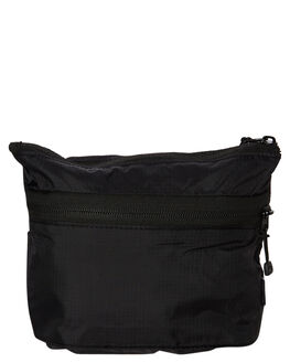 BLACK MENS ACCESSORIES STUSSY BAGS + BACKPACKS - ST797004BLK