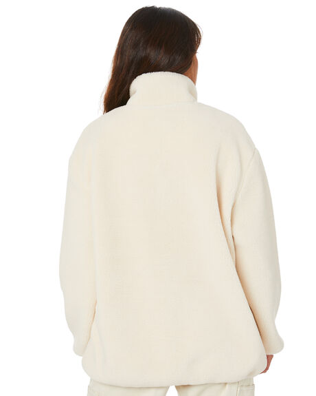 WHITE SAND WOMENS CLOTHING STUSSY JUMPERS - ST106704WHTSD