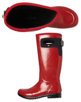 RED WOMENS FOOTWEAR BOGS FOOTWEAR BOOTS - 971554600