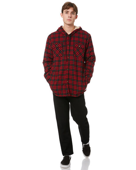BLOOD MENS CLOTHING STAY JACKETS - SSH-21103BLD