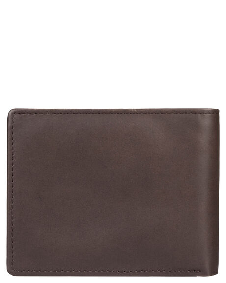 CHOCOLATE BROWN MENS ACCESSORIES QUIKSILVER WALLETS - EQYAA03746-CSD0