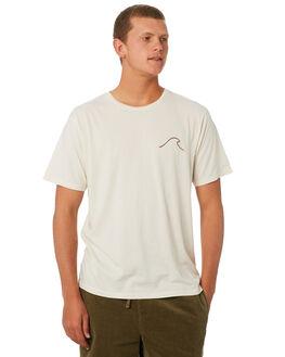 NATURAL MENS CLOTHING MOLLUSK TEES - MS1790NAT