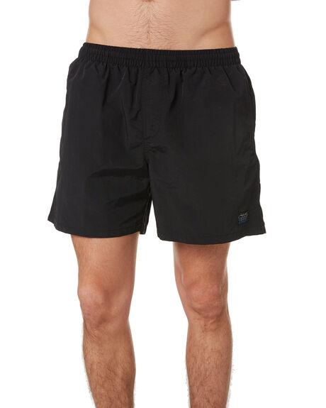 BLACK MENS CLOTHING STUSSY SHORTS - ST001602BLK
