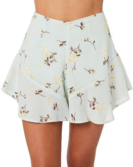 PRINT WOMENS CLOTHING ZULU AND ZEPHYR SHORTS - ZZ2829PRINT