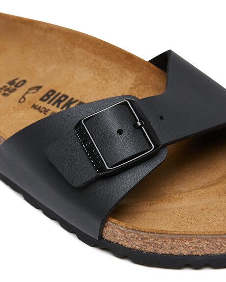 BLACK WOMENS FOOTWEAR BIRKENSTOCK FASHION SANDALS - 040791WBLK