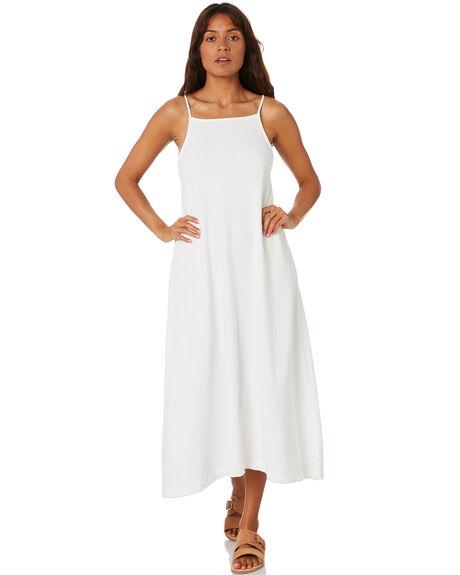 WARM WHITE WOMENS CLOTHING ZULU AND ZEPHYR DRESSES - ZZ3264WWHT