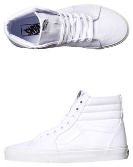 TRUE WHITE WOMENS FOOTWEAR VANS SNEAKERS - SSVN-0D5IW00WHIW