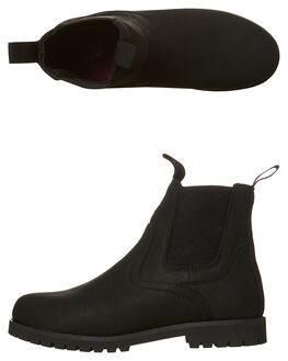 BLACK WOMENS FOOTWEAR RIP CURL BOOTS - TGLAA41619