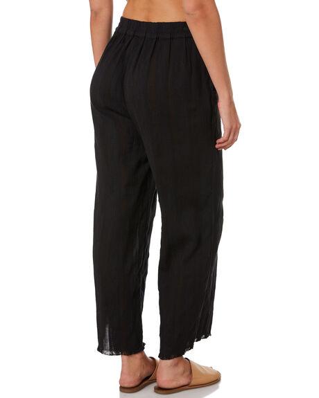BLACK WOMENS CLOTHING RIP CURL PANTS - GPAFD10090