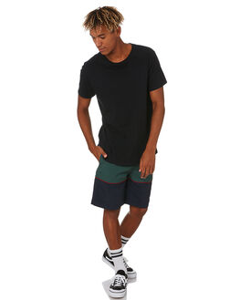 NAVY MENS CLOTHING GLOBE BOARDSHORTS - GB01928006NAVY