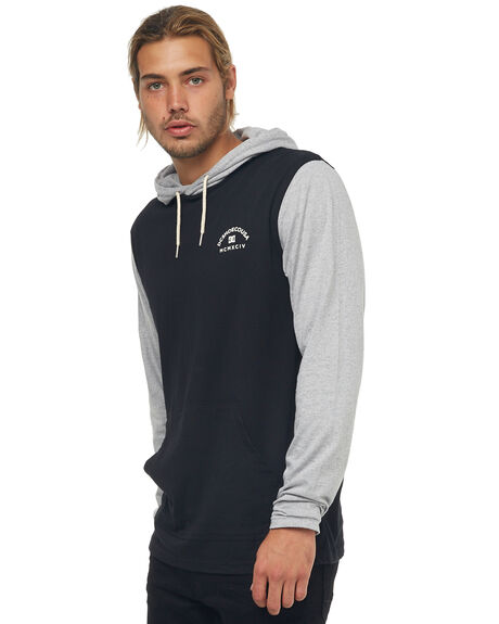 GREY HEATHER MENS CLOTHING DC SHOES JUMPERS - EDYKT03391KNFH