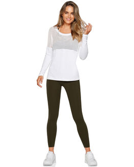 WHITE WOMENS CLOTHING LORNA JANE ACTIVEWEAR - W081915WHT