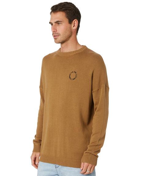 TAN MENS CLOTHING RPM KNITS + CARDIGANS - 21PM22B1TAN