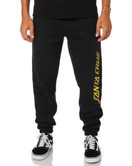 BLACK MENS CLOTHING SANTA CRUZ PANTS - SC-MFB0615BLK