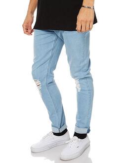 RIOT DESTROY MENS CLOTHING LEE JEANS - L-606087-CD7RIDES
