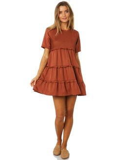 CINNAMON WOMENS CLOTHING SANCIA DRESSES - 701ACINNA