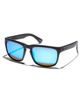 MATTE BLACK BLUE MENS ACCESSORIES ELECTRIC SUNGLASSES - EE09001062MTBLK