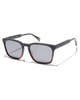 BURLWOOD BLACK MENS ACCESSORIES RAEN SUNGLASSES - 100M181PIE-S238-55