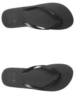 BLACK MENS FOOTWEAR RIP CURL THONGS - TMT4980090
