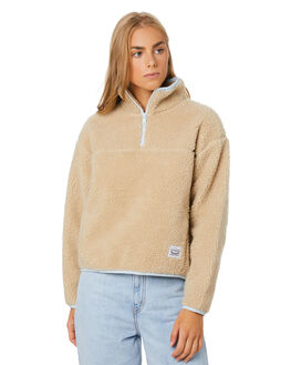 OYSTER GRAY WOMENS CLOTHING LEVI'S JUMPERS - 85737-0001OYSTR