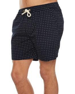 NAVY MENS CLOTHING ACADEMY BRAND BOARDSHORTS - 18S698NVY