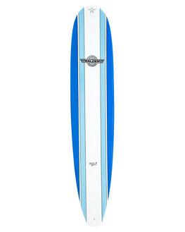 BLUE LIGHT BOARDSPORTS SURF WALDEN SURFBOARDS LONGBOARD - WD-MMX2-0906-DBL