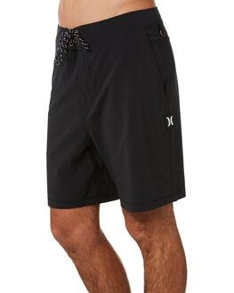 BLACK MENS CLOTHING HURLEY BOARDSHORTS - AQ9983010