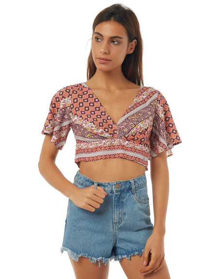 AZTEC STRIPE WOMENS CLOTHING O'NEILL FASHION TOPS - 4422803AZT