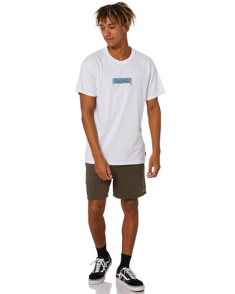 WHITE MENS CLOTHING RUSTY TEES - TTM2539WHT