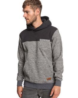 DARK GREY HEATHER MENS CLOTHING QUIKSILVER JUMPERS - EQYFT03988-KRPH