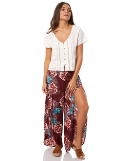 MAGENTA BLOOM WOMENS CLOTHING O'NEILL PANTS - 4723101-MGB