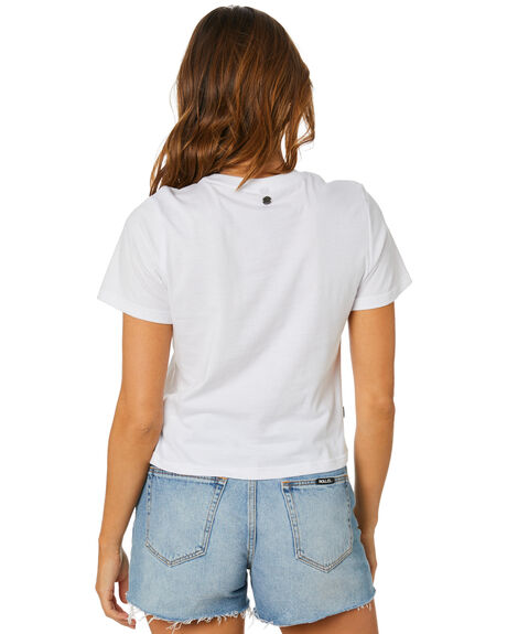 WHITE OUTLET WOMENS ALL ABOUT EVE TEES - 6446186WHT