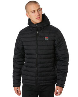 BLACK MENS CLOTHING DEPACTUS JACKETS - D5194382BLACK