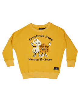 BURNT MUSTARD KIDS GIRLS ROCK YOUR KID JUMPERS + JACKETS - TGH1912-MCBMUS
