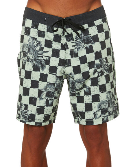 LIME GREEN OUTLET MENS RUSTY BOARDSHORTS - BSM1513LMG
