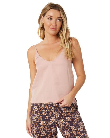MISTY ROSE WOMENS CLOTHING RUSTY FASHION TOPS - WSL0669-MYE