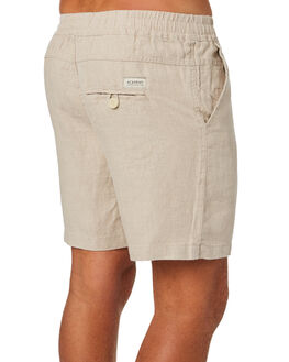 OATMEAL MENS CLOTHING ACADEMY BRAND SHORTS - 19S609OAT