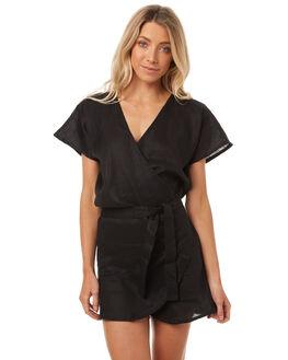 BLACK WOMENS CLOTHING LILYA DRESSES - LND04-LSP17BLK